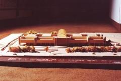Maqueta del edificio de la Escuela Superior de Marina Civil 1