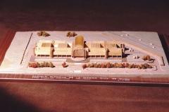 Maqueta del edificio de la Escuela Superior de Marina Civil 2