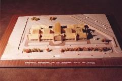Maqueta del edificio de la Escuela Superior de Marina Civil 3